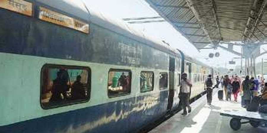 The train was steered to Cantonment railway station.