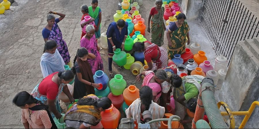 water scarcity, water crisis
