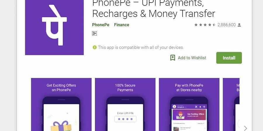 PhonePe second most downloaded finance app in May: Report