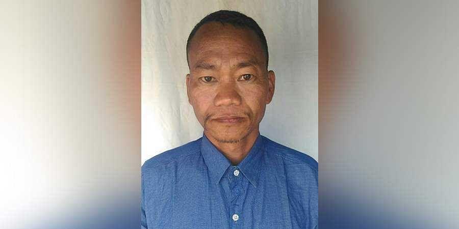 "NSCN-K leader ""Maj Gen"" Yanghang aka Mopa"