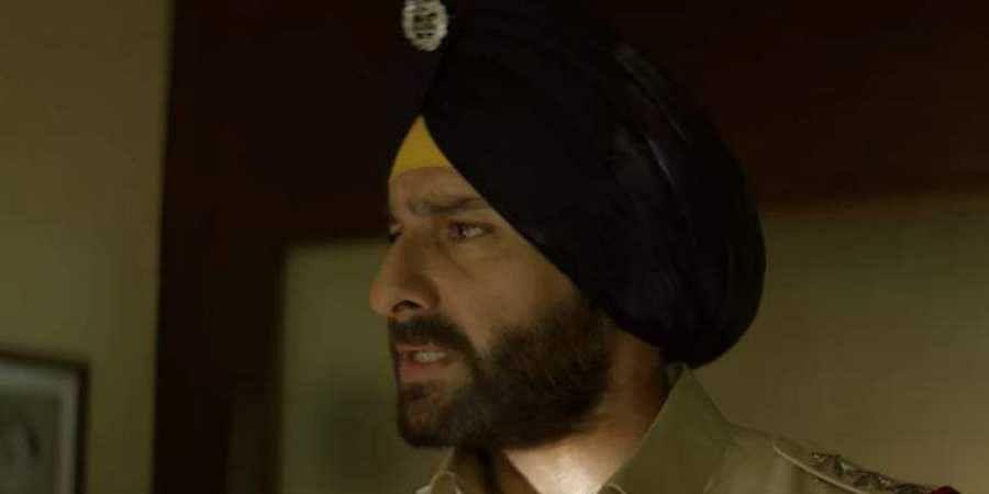 Saif Ali Khan in 'Sacred Games'