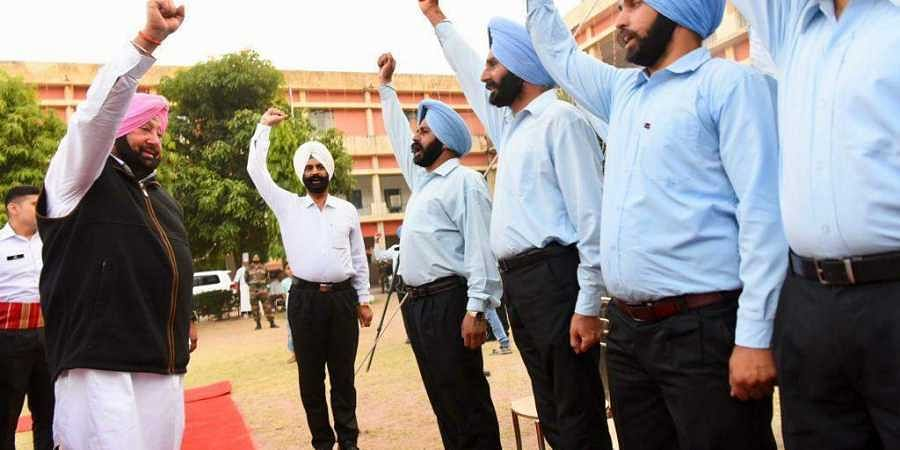 Amarinder singh, sikh battalion