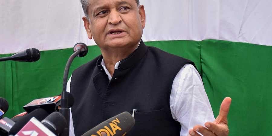 Senior Congress leader Ashok Gehlot