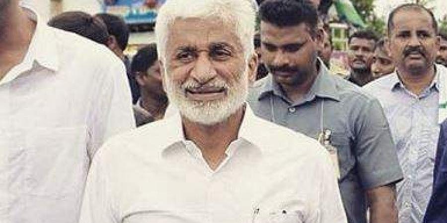 YSRC Rajya Sabha MP and national general secretary V Vijaya Sai Reddy