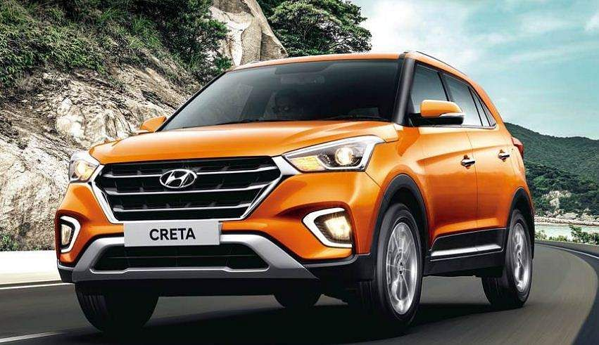 Hyundai Motor India's SUV Creta retained its seventh spot last month selling 9,054 units as against 11,004 units in May last year.  (Photo | Official website)