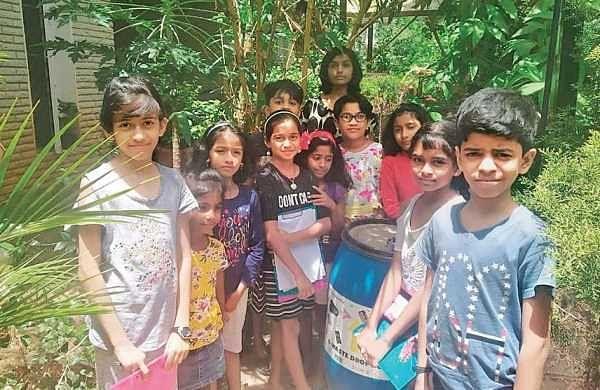Electronics City kids turn waste warriors