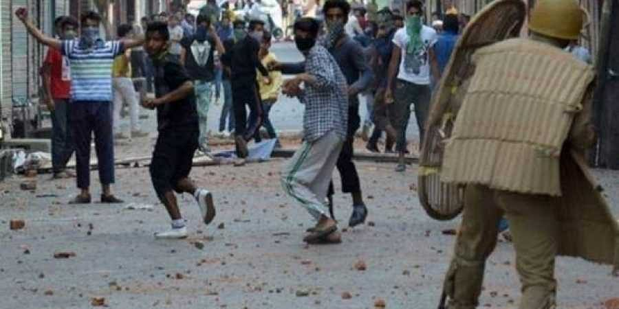 Jammu and Kashmir protesters