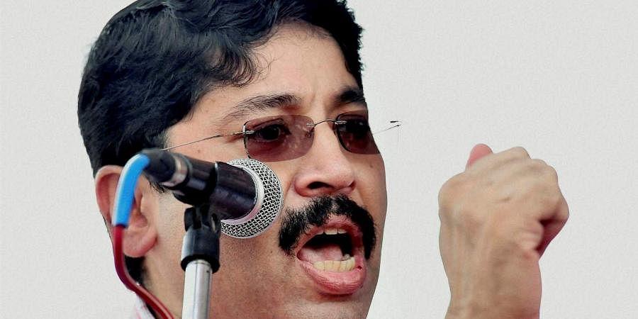 DMK MP Dayanidhi Maran