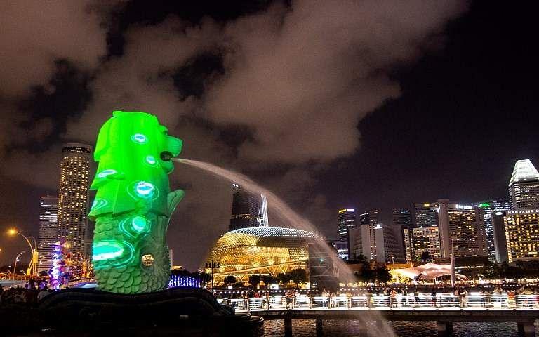 Half-Fish and Half-Lion, Singapore's Merlion is an iconic destination
