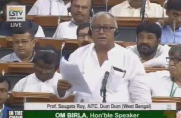 'Lynching of youth an example of religious intolerance': Sougata Roy slams BJP in Lok Sabha
