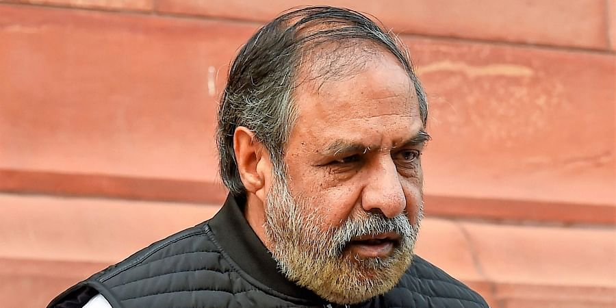 Congress leader and Rajya Sabha MP Anand Sharma