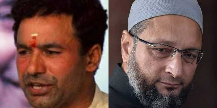 MoS Home and Secundarabad MP G Kishan Reddy and Hyderabad MP Asaduddin Owaisi