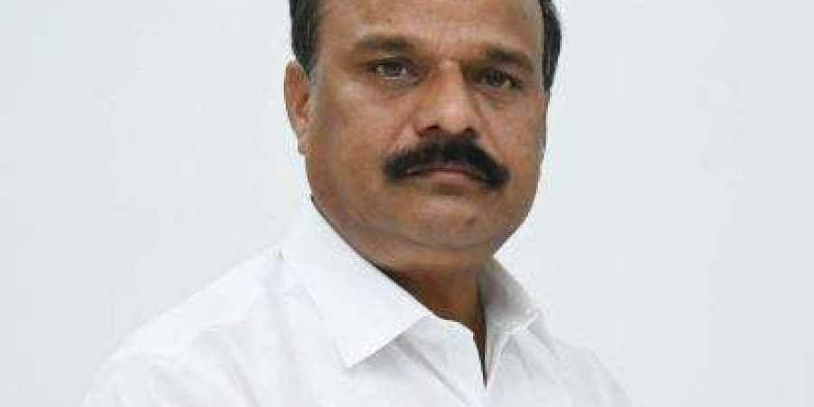 TRS MLC Karne Prabhakar