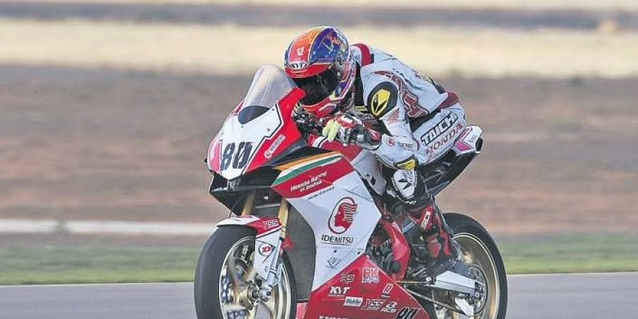 This is Rajiv Sethu's third season in FIM Asia Road Racing Championship.