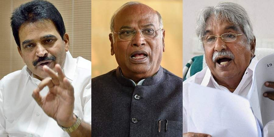 Prominent probable names from the South to succeed Rahul Gandhi include Mallikarjun Kharge, K C Venugopal and Oommen Chandy.