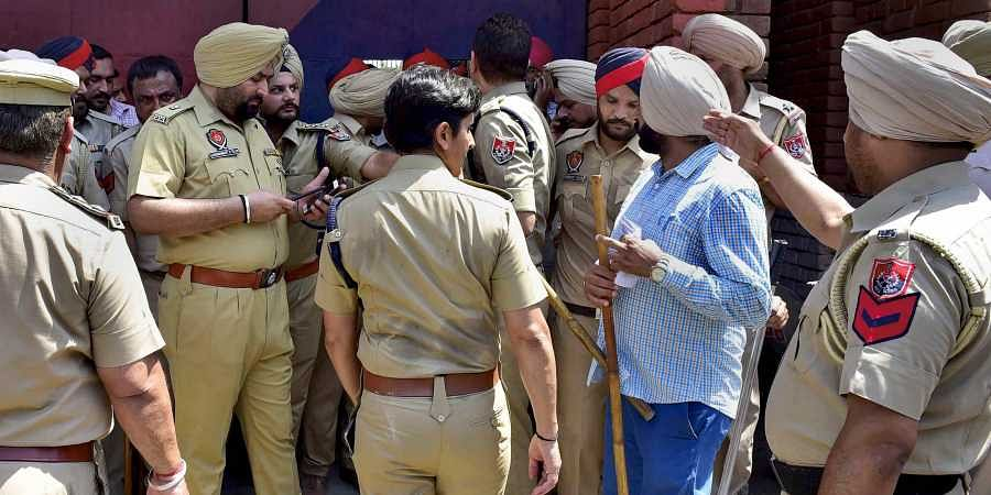 Heavy police force deployed at Ludhiana Central Jail where clashes broke out between prisoners and police