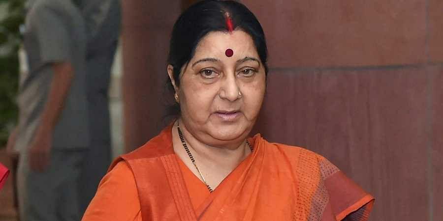 ormer External Affairs Minister Sushma Swaraj