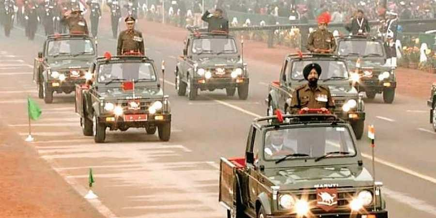The Gypsy is a part of the Republic Day parade and other ceremonial Army events