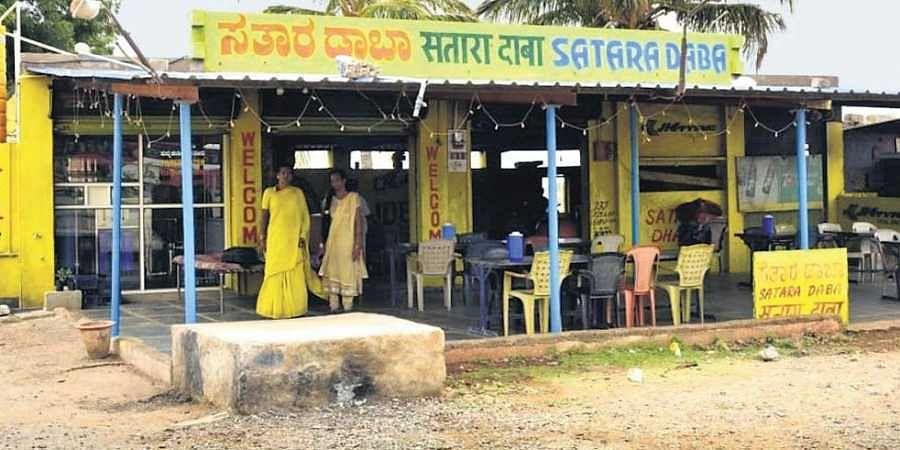 Transgenders-run Satara Dhaba in Karnataka. (Photo | EPS)