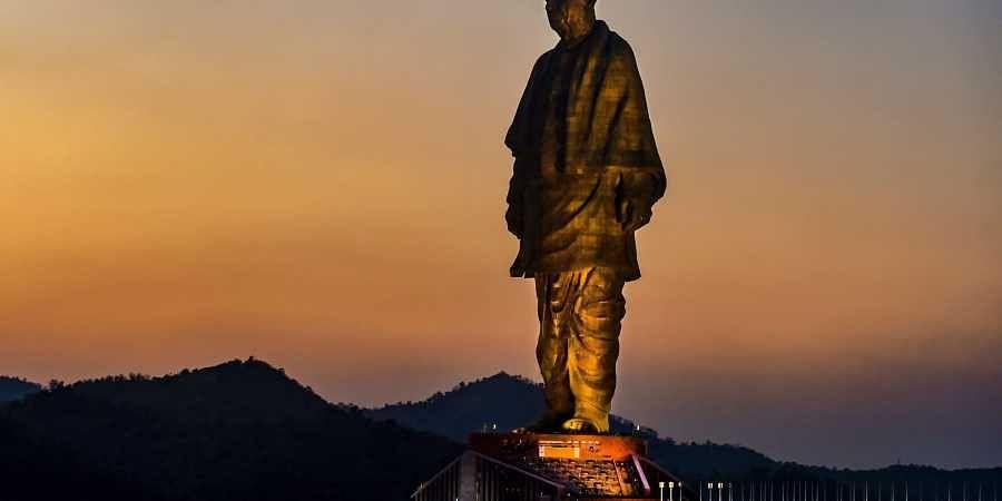 Statue of unity, sardar patel