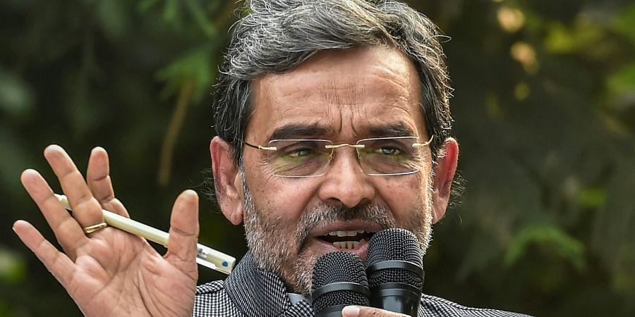 RLSP chief Upendra Kushwaha