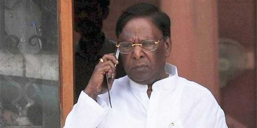 Puducherry Chief Minister V Narayanasamy