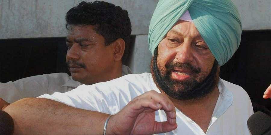 Punjab CM Amarinder Singh