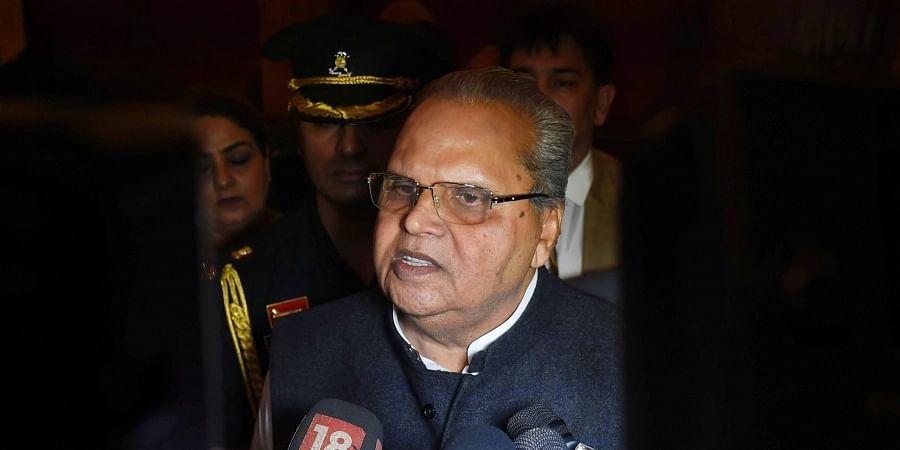 Satya Pal Malik, J-K guv