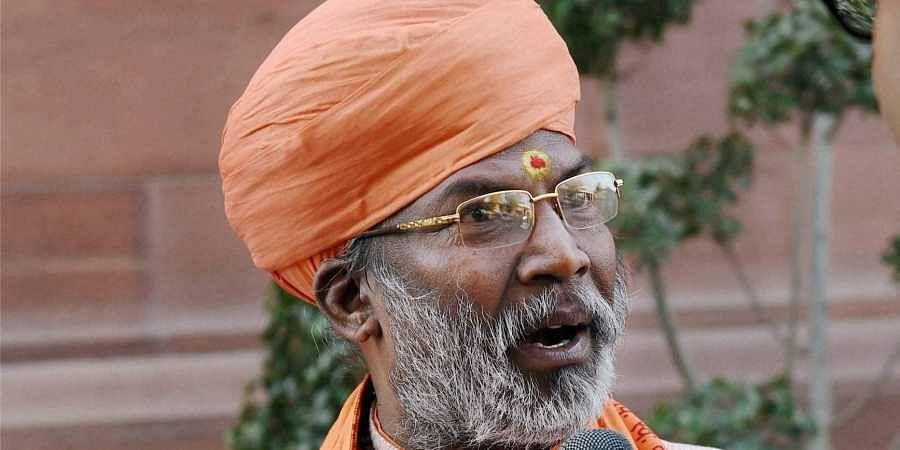 Temple construction at Ayodhya from December 6, says BJP MP Sakshi Maharaj