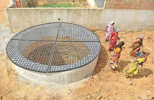Alamathi locals come together to revive open well