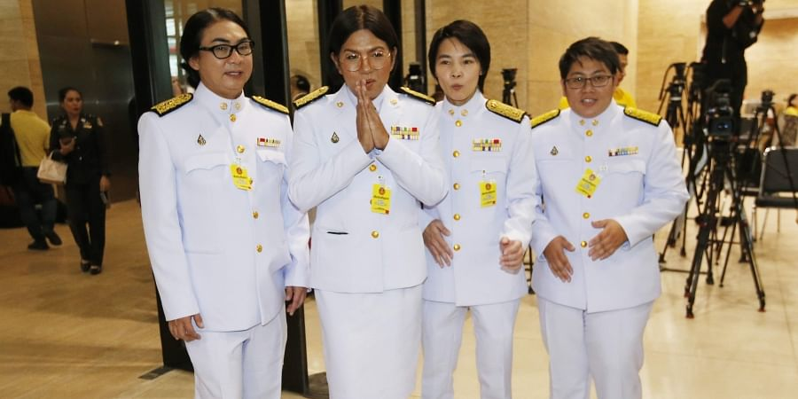 Not here for decoration': Thai transgender MPs make history