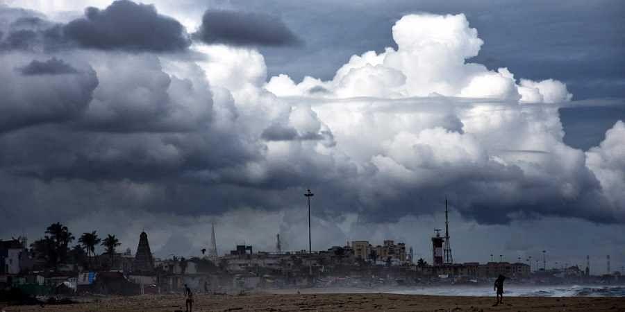 North East monsoon. (Photo | Ashwin Prasath/EPS)