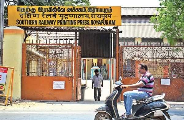 It's official: Railway printing press to be shut down