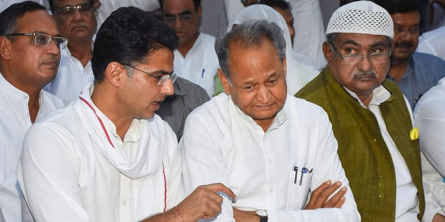 Gehlot, Pilot power tussle threatens to split Congress down the middle in Rajasthan