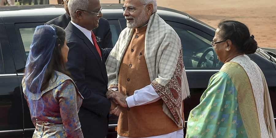 Maldives President visit