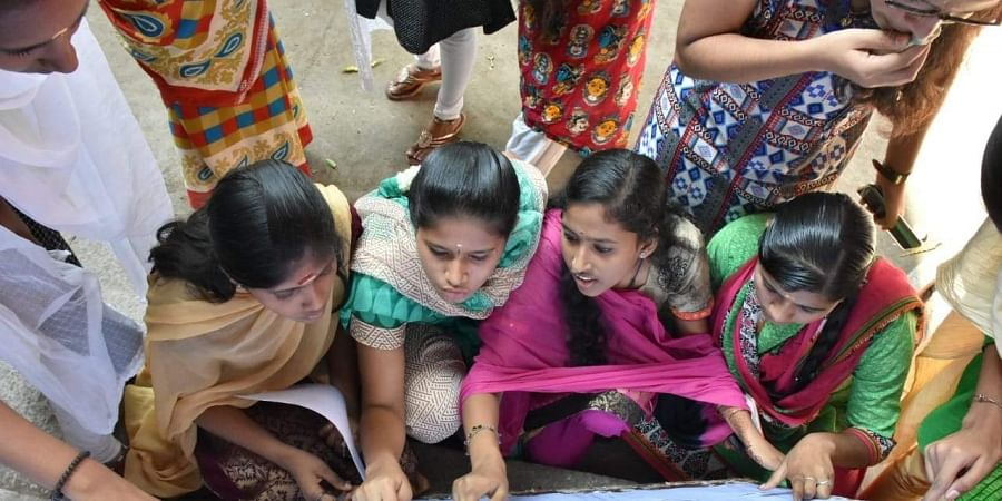 Students, board exam result