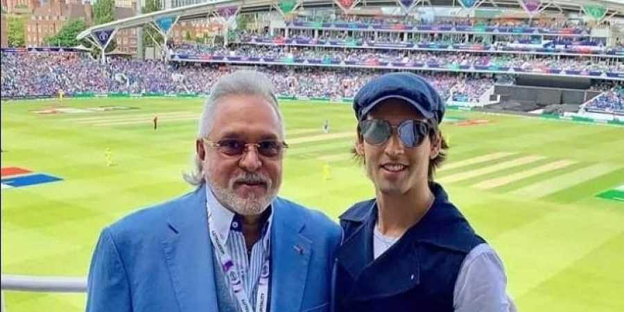 Vijay Mallya at The Oval for India vs Australia World Cup match- The