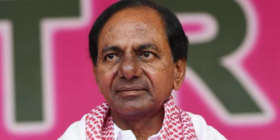 Telangana CM, TRS chief K Chandrashekhar Rao.
