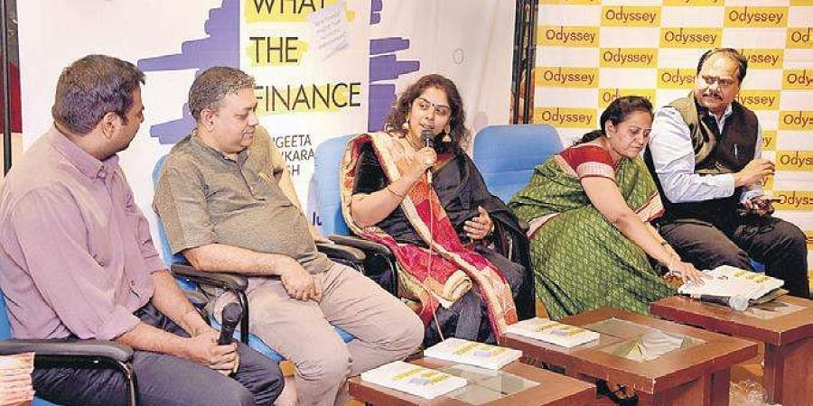 What the Finance: Easy-to-learn finance practices for entrepreneurs who want to achieve high performance book was launched at Odyssey, Adyar.
