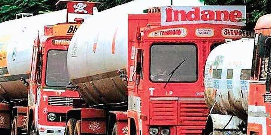 LPG lorry