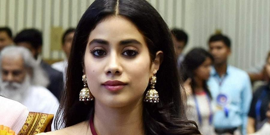 Bollywood actress Janhvi Kapoor