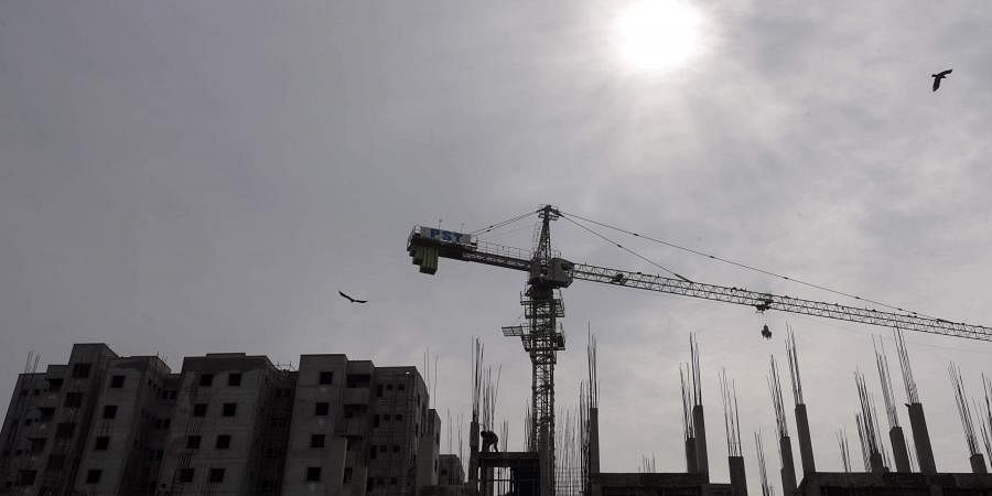 realty sector, construction