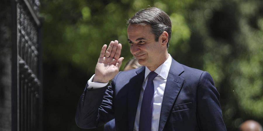 Greece's new cabinet sworn in after New Democracy party's win