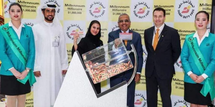 Two Indian expatriates win million dollars each in Dubai lottery