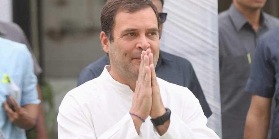 Congress leader Rahul Gandhi (File Photo   EPS)