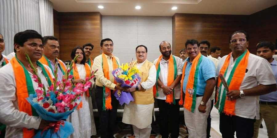 10 Goa Congress MLAs join BJP
