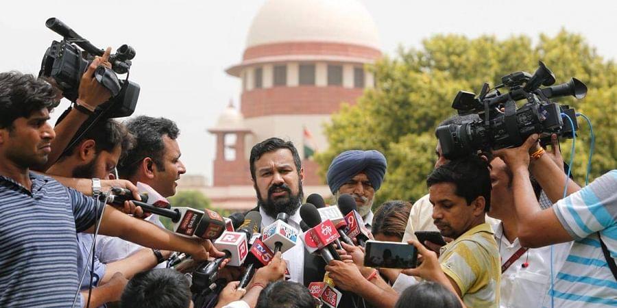 Advocate Vishnu Shankar Jain speaks on Ayodhya land dispute case