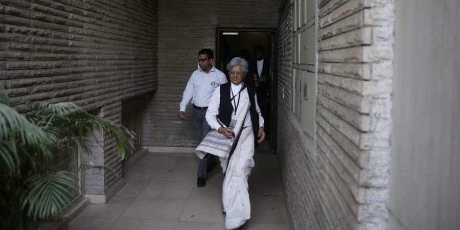 Former Additional Solicitor General Indira Jaising