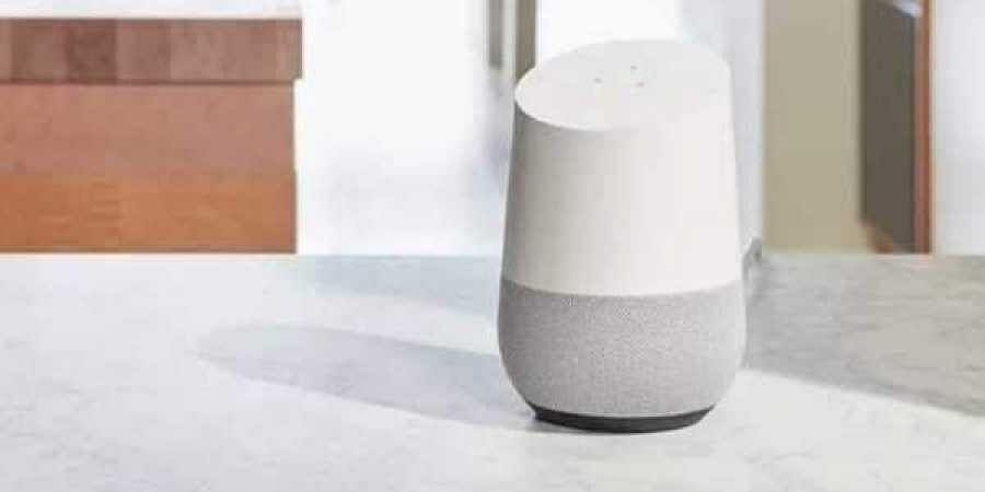 Google Home speaker (Play Store Screen grab)