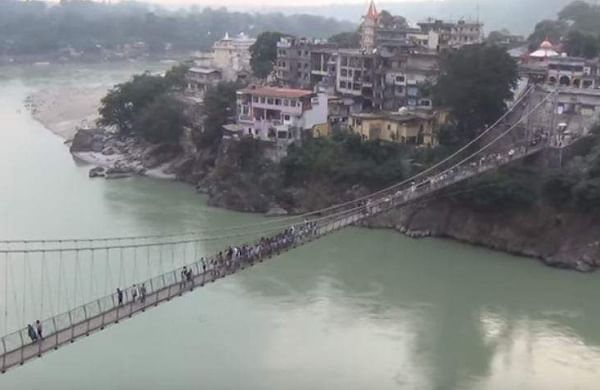 Rishikesh's 96-year-old Laxman Jhula bridge closed